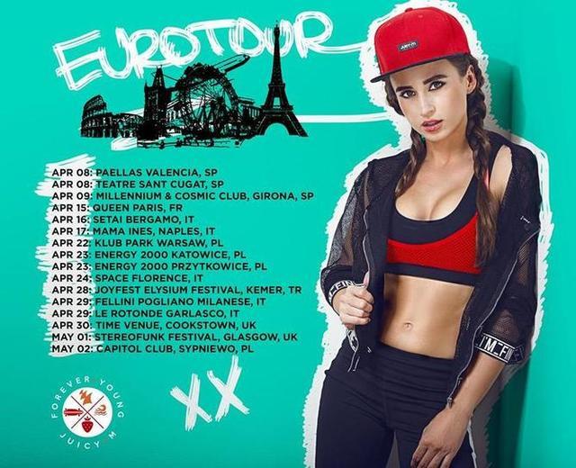 Dj Juicy M Tour Dates